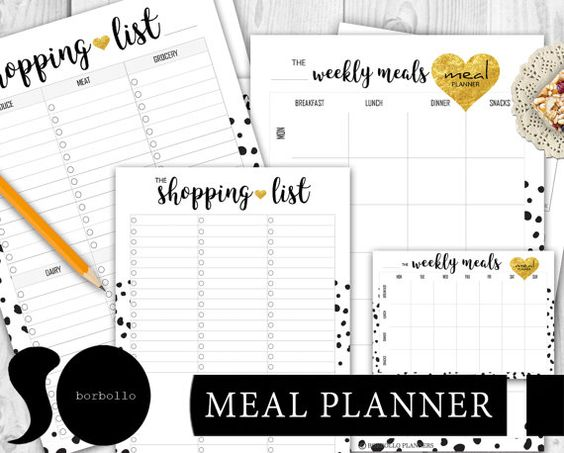 2017 FULL LIFE PLANNER KIT by BorbolloPlanners