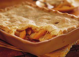 Triple-Crust Peach Cobbler