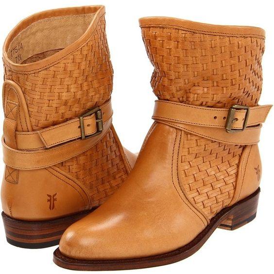 <3 Frye Boots... Dorado Short Woven - Adore these!