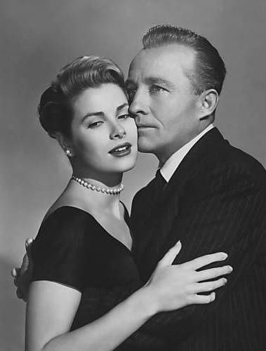Wow. Grace Kelly & Bing Crosby together in one flawless shot. Grace was always in love with him.