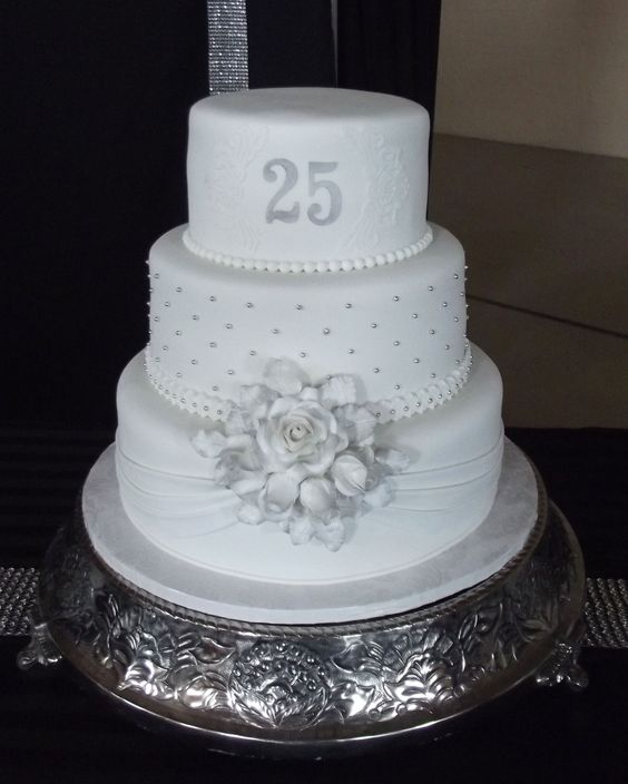 25th Wedding Anniversary Cake Ideas: Pinterest • The World's Catalog Of Ideas