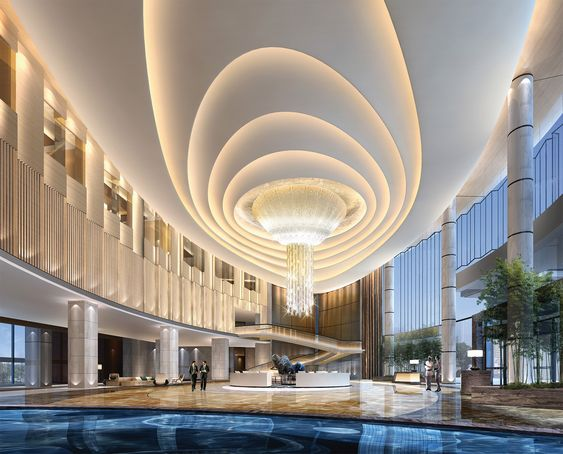 Design photos and china on pinterest for Hotel ceiling design