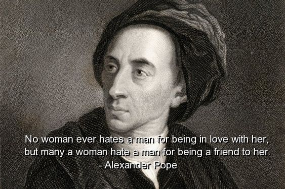 alexander pope, quotes, sayings, relationships, love, friends - know then thyself presume not god to scan