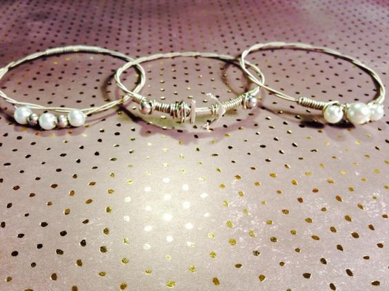 Anchor and Pearl 3-piece Guitar String Bangle Set
