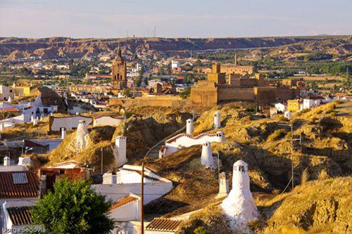 Granada ,casas cueva.Andalucía España. Spain.