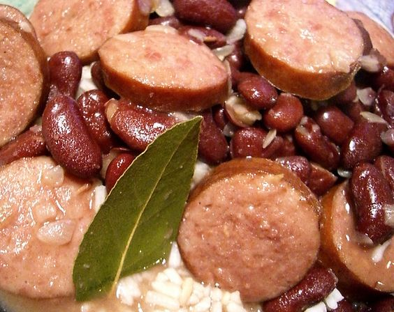 New Orleans Red Beans and Rice with Andouille Sausage ...