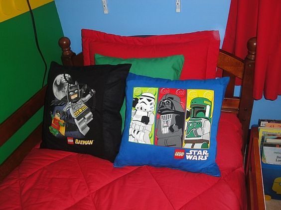Lego Throw Pillow And Blanket Set : Lego, The o jays and Throw pillows on Pinterest