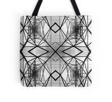 Tote Bag Steel construction seamless pattern.