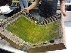 Great idea for a bloodbowl pitch