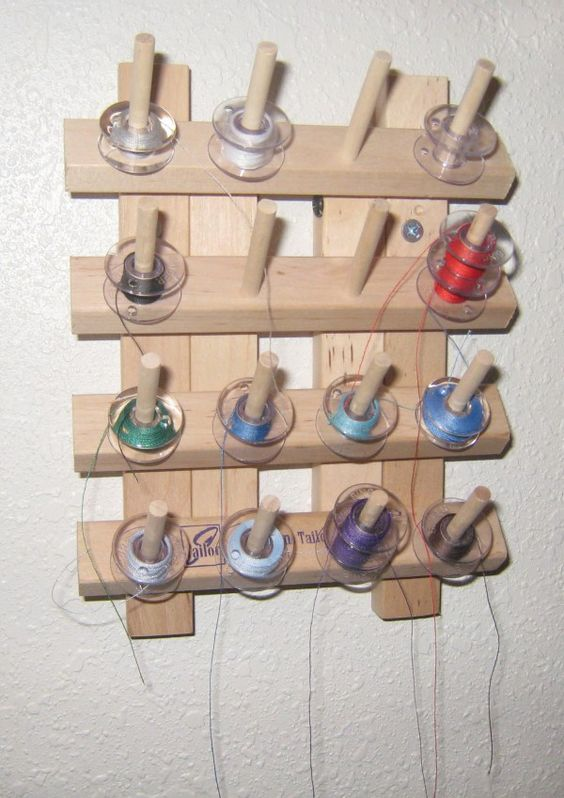Bobbin Storage - Have one of these too but I don't like it as much as the round bobbin storage.