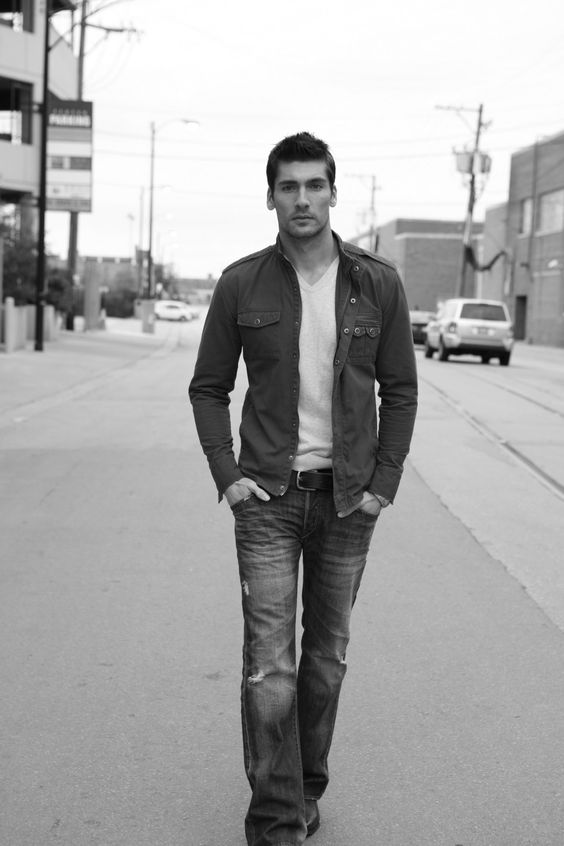 Travis Vulich by Michael Dar (2010) #TravisVulich #MichaelDar #malemodel #model #FordModels #FordModels_Chi #bw