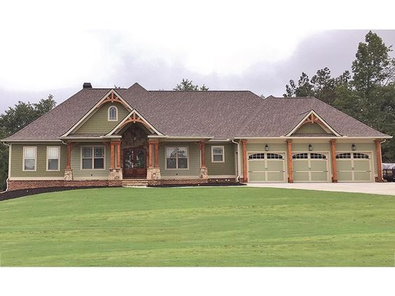 Eplans craftsman style house plan sprawling craftsman for Eplan house plans