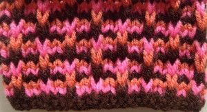 Multi-Colored Loops Scarf free pattern at http://www.learnhowtoknitascarf.com/multi-colored-loops-scarf/