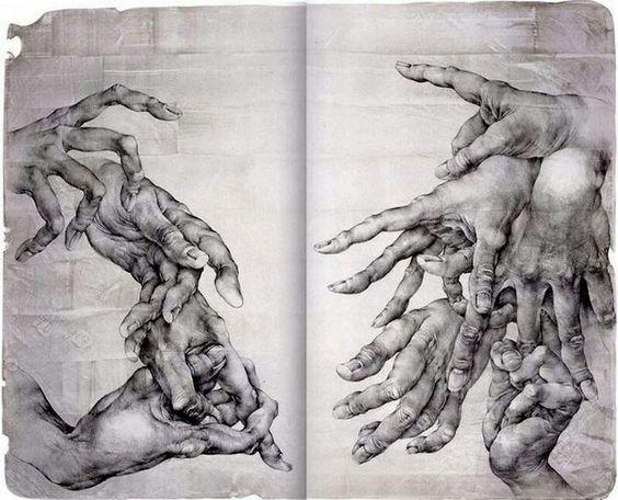 #dibujo #arte #manos