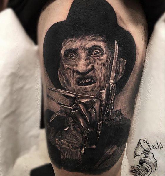 Freddy Krueger Horror Movie Tattoos Movie Tattoos Monster Tattoo