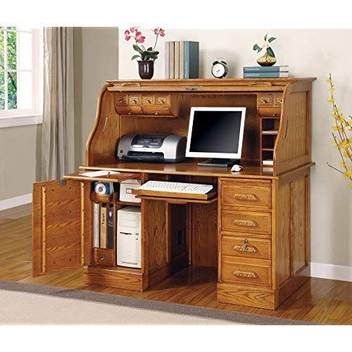 Roll Top Computer Desk Http Www Otoseriilan Com Roll Top Desk Furniture Computer Desk Small Computer Desk