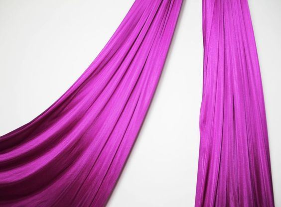 54 inches wide Magenta Aerial Silk