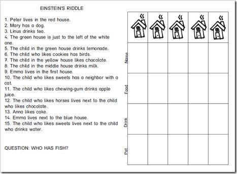 Riddle Worksheets For Kindergarten | Worksheet