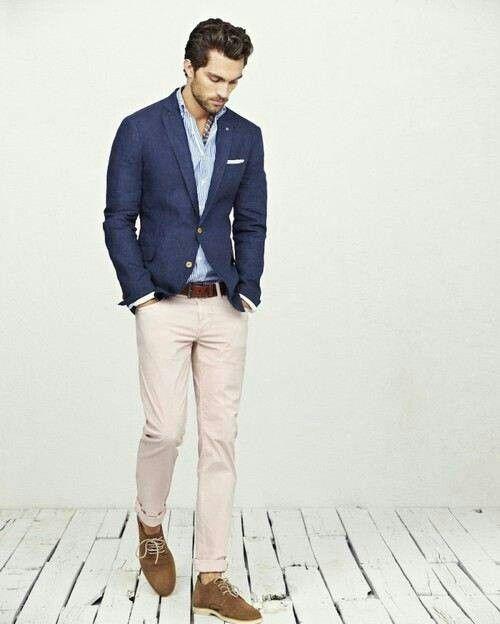 Light pants dark jacket   mens fashion   Pinterest   Jackets ...