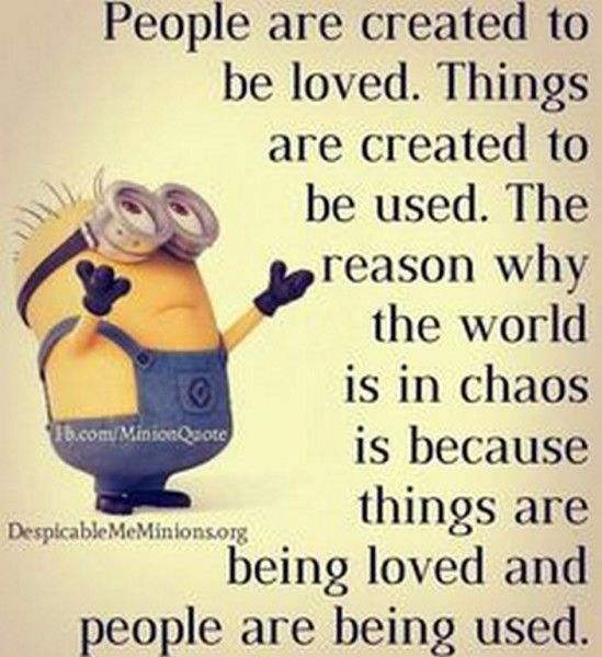Cute Funny Minions jokes – 10 pics... Probally more ironically funny than humorous ... But deffinantly true !!!: