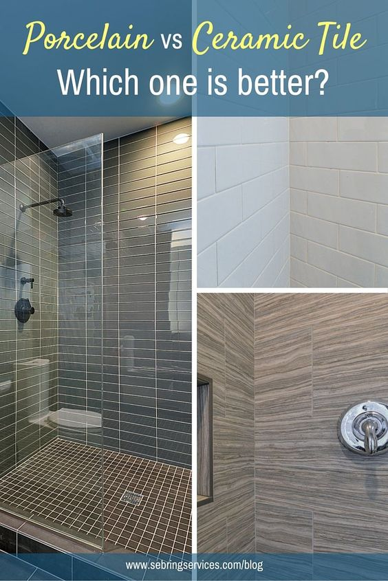 Porcelain Vs Ceramic Tile Which One Is Better Ceramics Other And We