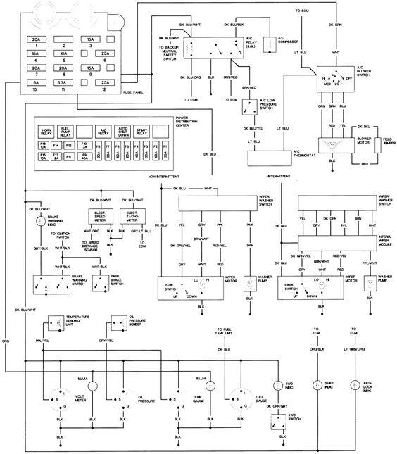 89 Jeep YJ Wiring Diagram 89 Jeep YJ Wiring Diagram