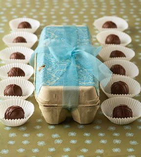 Cute way to box chocolates