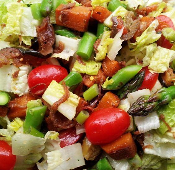 RootVeg, Roasted, Salad, Spiralized