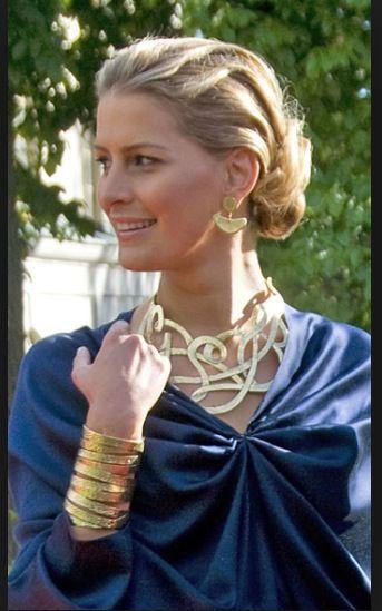 Tatiana Blatnik's necklace