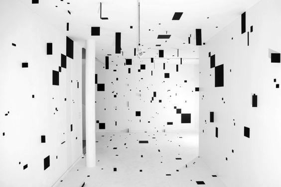 Esther Stocker In 2019 Museum Of Contemporary Art Installation