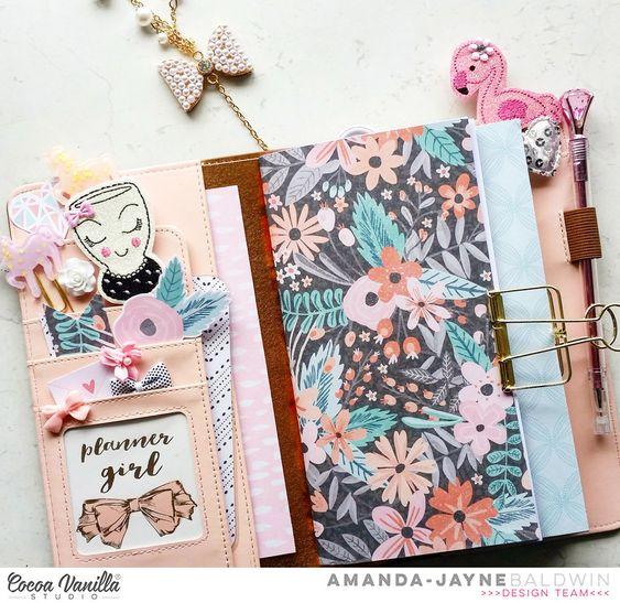 Traveler's Notebook | Love Always | Amanda Baldwin – Cocoa Vanilla Studio