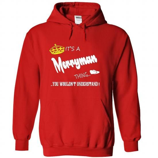 Its a Merryman Thing, You Wouldnt Understand !! tshirt, - #food gift #husband gift. WANT THIS => https://www.sunfrog.com/Names/Its-a-Merryman-Thing-You-Wouldnt-Understand-tshirt-t-shirt-hoodie-hoodies-year-name-birthday-5053-Red-48723720-Hoodie.html?68278