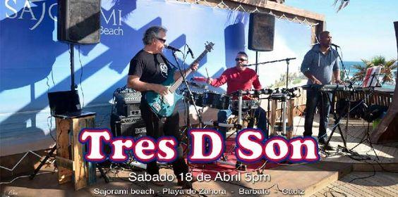 "18 de Abril ""Tres D Son"" en directo"
