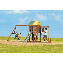 "Carlisle Wood Gym Set - Big Backyard - Toys ""R"" Us   Swing ..."