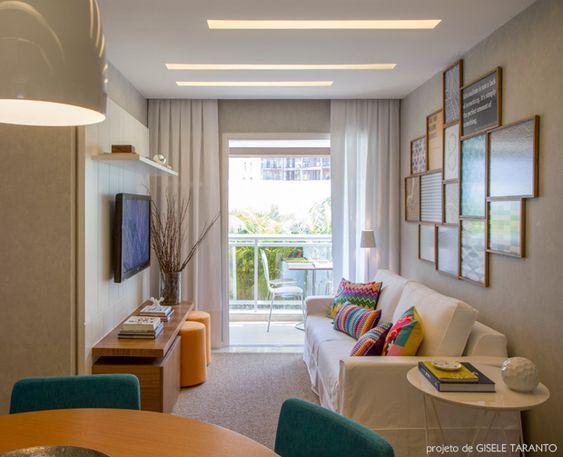 Sala de estar quadros hack revestimento sala for Decoracao sala de estar quadros