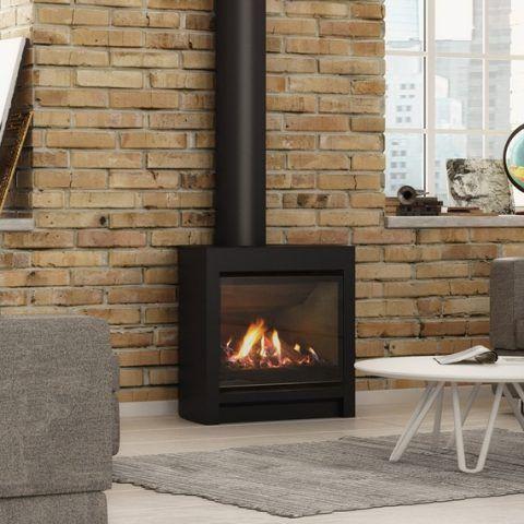 Escea Dfs730 Freestanding Fireplace Gas Fireplace Indoor Gas Fireplace