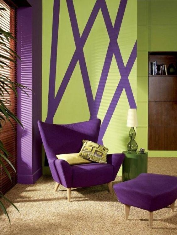 Déco intérieur Pourpre  | Design d'intérieur idées – la couleur pourpre dans l ...