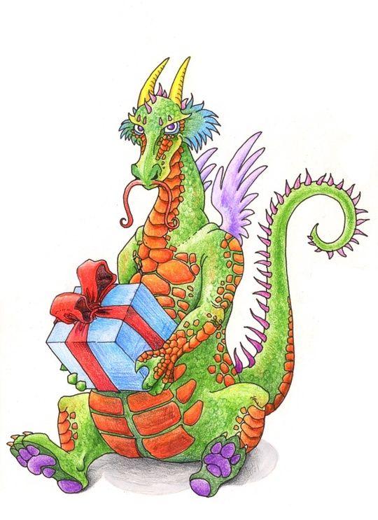A Dragon's Gift by Yen Shu Liao