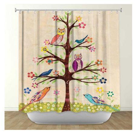 #owls #owl #shower #curtains