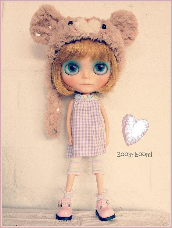 Tippi's heart is going boom boom | by Maasje
