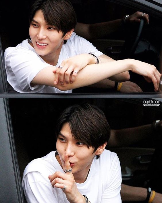 160612 #Leo ⇢ Mata Hari © Cupids Bow ⠀ FINALLY an unwhitewashed picture of taekwoonie!!! what a cutie. Believe it or not, he has some melanin in his skin!!! A concept that k-fans can't seem to understand!!! Ugh