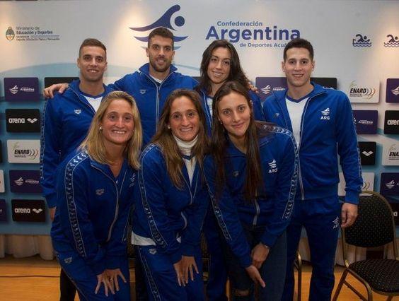 Equipo olimpico argentino de Natacion para RIO