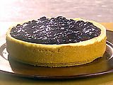 The ULTIMATE blueberry lemon cheesecake