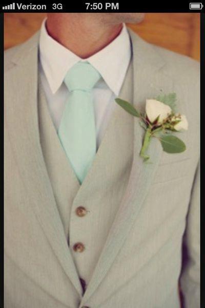 mariage vert menthe mint d'eau planche inspiration 2