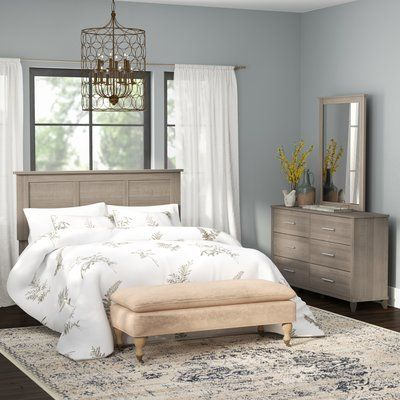 Laurel Foundry Modern Farmhouse Valencia 3 Piece Bedroom Set Size