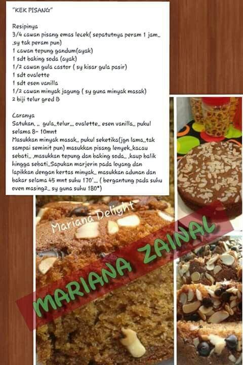 Pin On Airtangan Chef Mariana Zainal