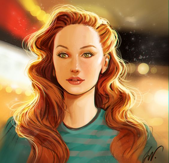 Jean Grey Age of apocalypse - Lucas Werneck  I just couldn't avoid me.. So I draw her :D