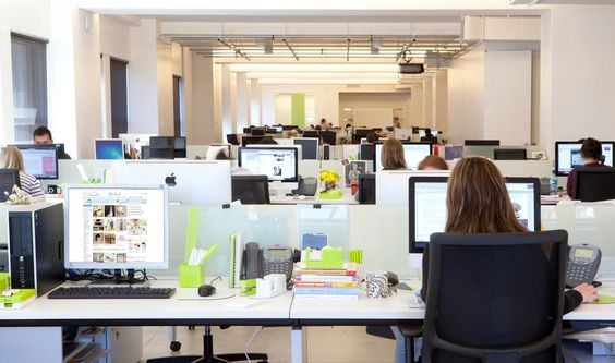 Take an inside look at #XOGroup (http://www.xogroupinc.com/), home of The Bump, The Nest and The Knot! #workhappy #white #limegreen #officeinsider