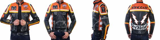 """Retro Style Motorbike Leather Jackets of  Mickey Rourke Harley Davidson. Mickey Rourke Worn This in Hollywood Movie """"The Marlboro Man"""" as Harley Davidson. Made from Faux Leather Now is Component of Our Online Store Order Now to Show your Impression Classy   #mickeyrourke #harleydavidson #themarlboroman #retrostyle #motorbike #stylish #beautiful #dashing #movies"""