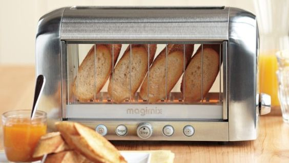 See through toaster